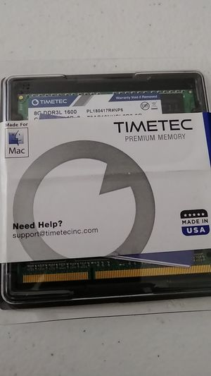 Desktop RAM (for Mac) Timetec Hynix IC 16 gb kit for Sale in Richmond, VA