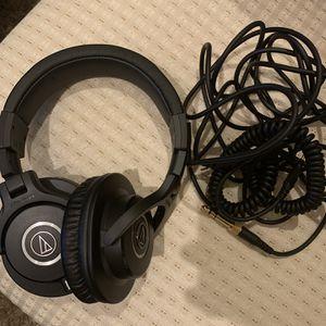 Audio Technica ATH M40X Originally $100! for Sale in Morgan Hill, CA
