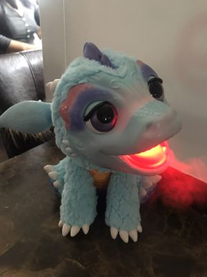 "2015 Hasbro FurReal Fur Real Friends Torch My Blazin Dragon 12"" Interactive Pal for Sale in West Dundee, IL"