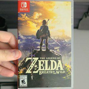 The Legend Of Zelda Breath Of Wild Switch for Sale in Miami, FL
