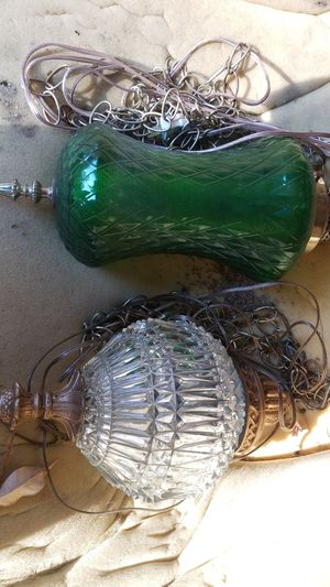Antique hanging lamps for Sale in Portland, OR