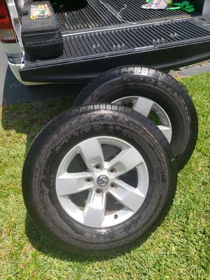 Ram rims and tires for Sale in DeLand, FL
