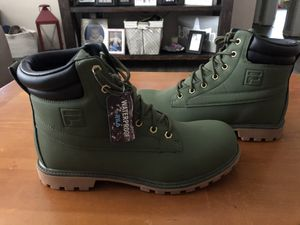 Fila Mens Watersedge 17 Casual Dress Boots Boots Size 10 BNWT for Sale in Winter Haven, FL