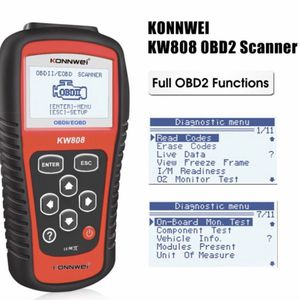 KONNWEI KW808 maxi scan OBDII obd2 Auto Code Reader Work for US, Asian & European Cars KONNWEI KW808 Code Scanner Audi, Benz, BMW, Buick, Chevrolet, F for Sale in Los Angeles, CA
