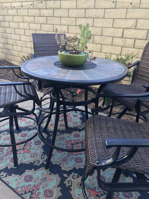 Hightop Patio Furniture for Sale in Encinitas, CA
