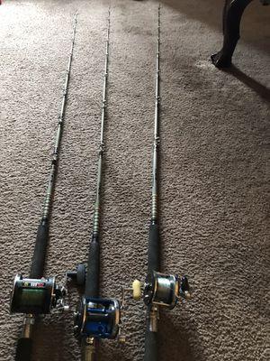 Penn reels/Daiwa rods for Sale in Grand Terrace, CA