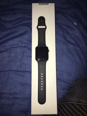 Apple Watch Series 3 Black Non LTE for Sale in Pittsburgh, PA