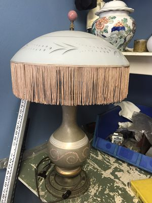 Antique Fringe Lamp for Sale in Mount Dora, FL