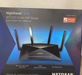 NETGEAR Nighthawk X10 Quad-Stream WiFi Router for Sale in Costa Mesa,  CA