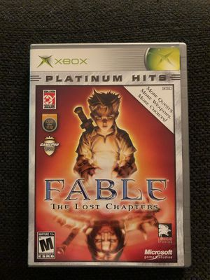 Fable: The Lost Chapters (XBOX - Like New) for Sale in Daniels, MD