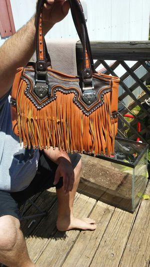 Montana Farm Fringe Bag for Sale in Powdersville, SC