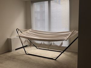 Indoor/outdoor hammock + steel base for Sale in Washington, DC