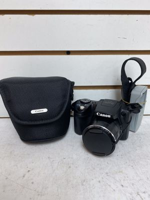 Canon powershot Sx510 HS DIGITAL CAMERA W/lens charger & Soft Carry Case for Sale in Margate, FL