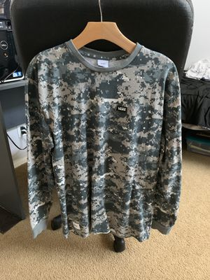 WTAPS x Vans Collaboration long sleeve size L for Sale in Poway, CA