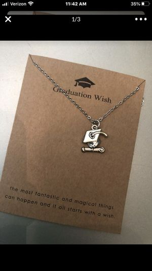 Graduate!!! New charm necklaces- $10 for Sale in Chula Vista, CA