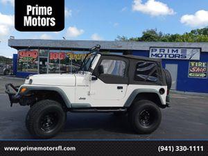 1997 Jeep Wrangler for Sale in Sarasota, FL