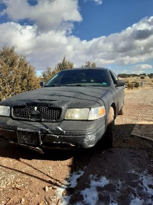 Retired cop car 07 ford crown vic 1200 obo for Sale in Moriarty, NM