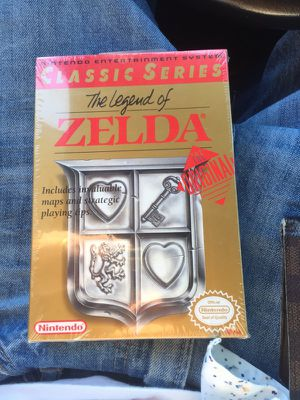 Zelda brand new Sealed never opened almost perfect condition real deal!!!! 600 open to trade obo for Sale in Lakeland, FL