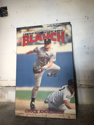Chuck Knoblauch Poster Baseball Card for Sale in Sunrise, FL