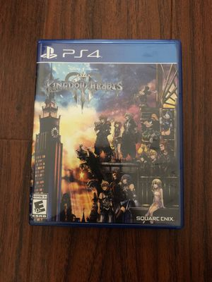 Kingdom Hearts 3 for PS4 for Sale in Beverly Hills, CA