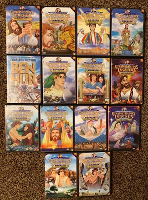 Greatest Heroes and Legends of the Bible DVDs for Sale in Loma Linda, CA