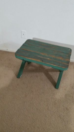 Green blue antique furniture coffee table x 2 for Sale in Los Angeles, CA