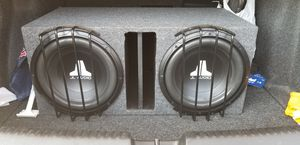 "2 12"" JL Audio subwoofers/box for Sale in Euless, TX"