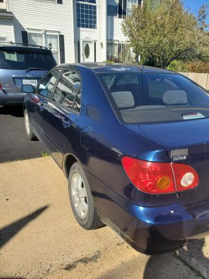 Toyota Corolla for Sale in Manassas, VA