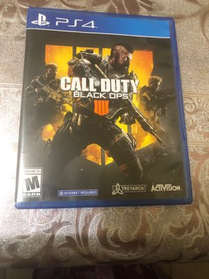 Call of duty black ops 4 never used for Sale in West Seneca, NY