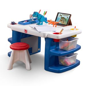 Build & Store Kids Activity Table Art Desk with Storage for Sale in Beaumont, CA
