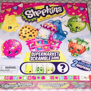Shopkins Supermarket Scramble Board Game for Sale in El Paso, TX