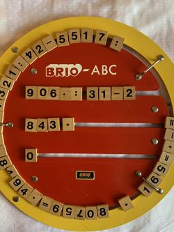 Brio ABC's Train-track Wood Letters $18 for Sale in Tigard,  OR