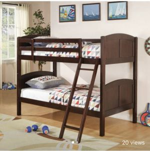 Brand New Cool Cherry Bunk Bed w/ Mattresses for Sale in Nashville, TN