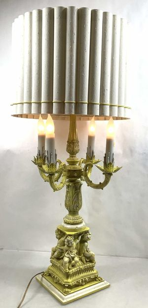 Rare - Mid Century French Traditional Candelabra Lamp for Sale in Peoria, AZ