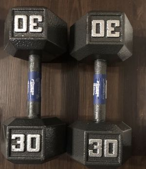 Dumbbells 💪 (2x30Lbs) for $120 Firm on Price for Sale in Walnut, CA