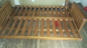2n1 wooden bed couch for Sale in Washington, DC