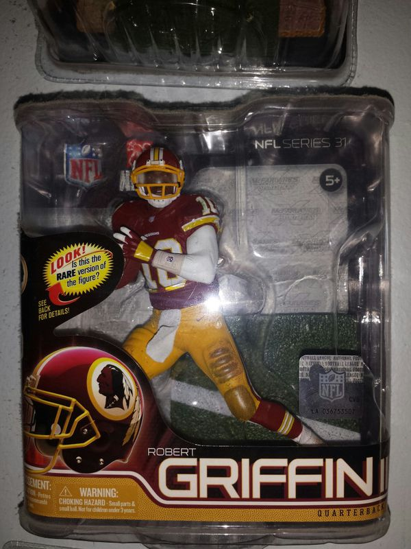 RG3 MCFARLANE FIGURE NEW IN PACKAGE WASHINGTON REDSKINS