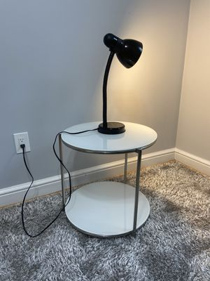 Nightstand with Lamp for Sale in Silver Spring, MD