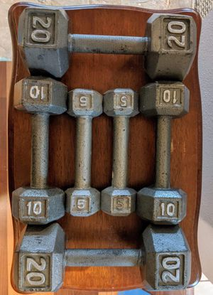 70lbs of Dumbbells for Sale in Euless, TX
