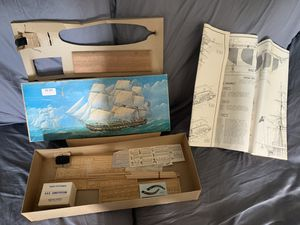 Ship wood model kit for Sale in Southington, CT