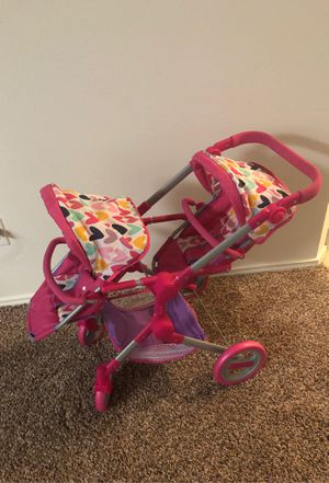 Jumbo double stroller for dolls for Sale in Dallas, TX