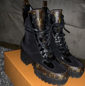 Lv combat boots for Sale in Moorestown, NJ