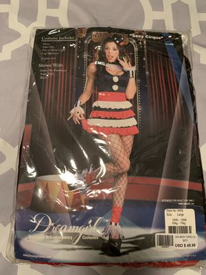 Dreamgirl Cirque Costume Size Large for Sale in Covina, CA