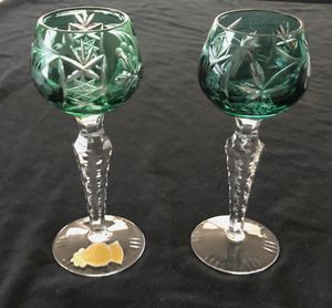 Antique Hand-cut Crystal Glasses for Sale in Easley, SC