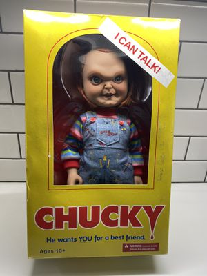 Brand new Chucky doll still in the box for Sale in Raleigh, NC