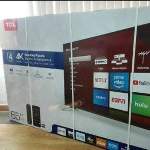 "65"" TCL 65S423 4K UHD HDR LED ROKU SMART TV 2160P (FREE DELIVERY) for Sale in Tacoma, WA"
