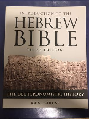 Introduction to the Hebrew Bible 3rd Edition for Sale in Azusa, CA