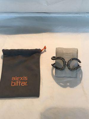 Authentic Alexis Bittar Black Bracelet for Sale in Gilbert, AZ