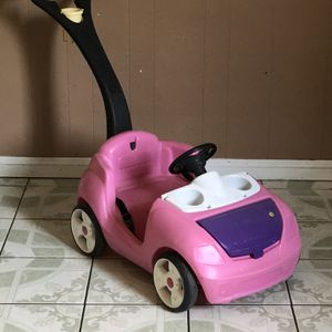 LIKE NEW LITTLE TIKES PUSH CAR for Sale in Riverside, CA