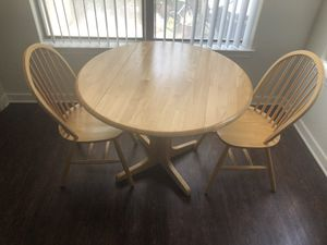 Kitchen table with both chairs. for Sale in Lewisville, TX